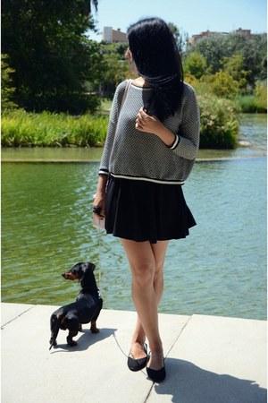 black pull&bear skirt