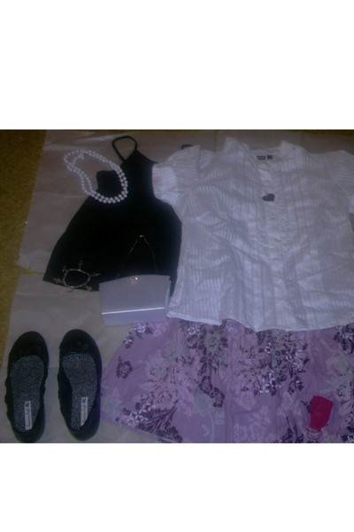 ANA - A New Approach shirt - ANA - A New Approach blouse - American Eagle shoes