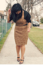H&M dress - bolero Greenhils top - Payless heels