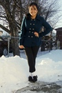 Blue-forever-21-coat-black-garage-leggings-white-sm-socks-brown-gojane-sho