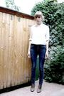 White-holt-renfrew-shirt-blue-forever-21-jeans-beige-scarpasa-shoes-gold-n