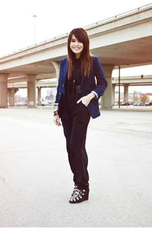 vintage - Marc by Marc Jacobs necklace - Opening Ceremony boots - Urban Renewal