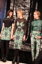 Florals and Leather at Charlotte Ronson Fall/Winter 2013