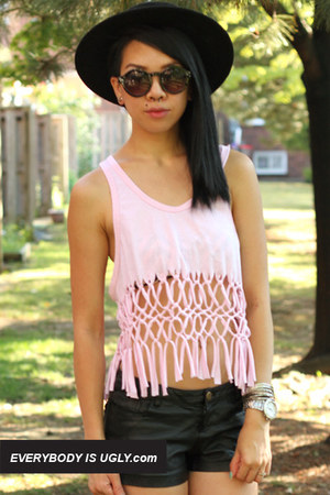 Light-pink-macrame-top