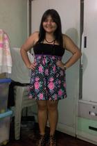 Mango top - darrylchanmultiplycom skirt - ichigo shoes - What about Suzy necklac