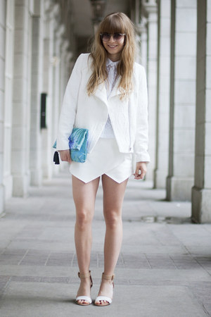 Zara sandals - H&M Trend jacket - Urban Outfitters bag - asos sunglasses