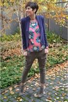 MSGM blouse - Guess blazer - Guess pants