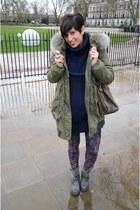 Violanti coat - Jeffrey Campbell boots - Calzedonia leggings
