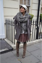 marsell boots - Dixie coat - Guess skirt