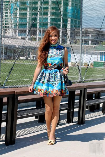 blue Luscious Closet dress