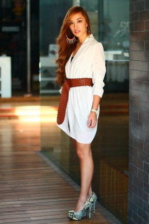 white Forme dress