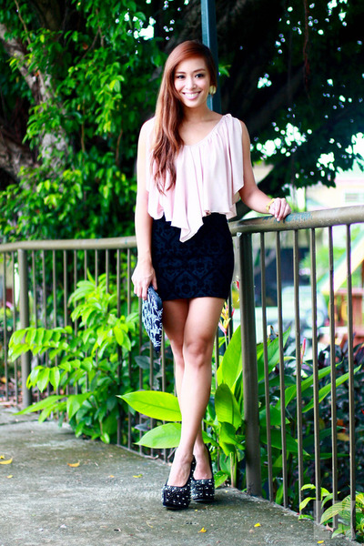 black Zara skirt - Zara skirt
