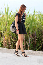 black Pink Manila skirt