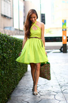 lime green Depaige Manila dress