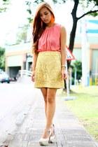 pink unica hija top
