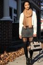 Shift-dress-forever-21-dress-cropped-forever-21-sweater