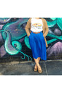Off-white-laksa-print-nom-nom-t-shirt-blue-pleated-midi-volcom-skirt