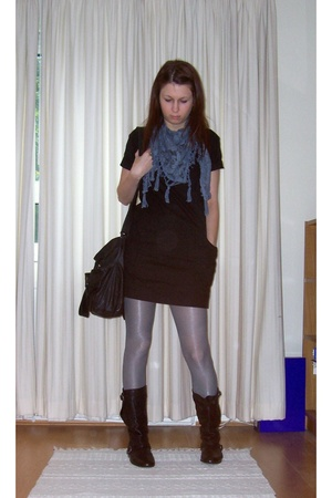Urban accessories - H&amp;M dress - H&amp;M tights - Office shoes