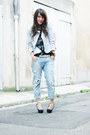 Light-blue-zara-jeans-off-white-chicwish-jacket