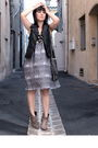 Gray-h-m-dress-brown-pimkie-boots-gray-h-m-accessories