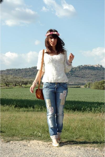 blue Pimkie jeans - tawny Primark accessories
