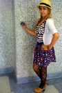 Straw-hat-hat-striped-forever21-shirt-clogs-flowers-forever21-skirt-fore