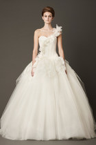 ivory laura vera wang dress