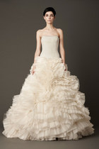 ivory leah vera wang dress