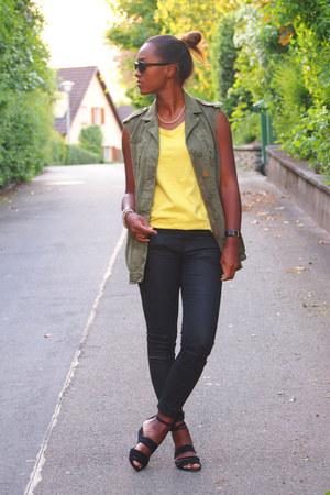 Zara vest - Zara pants