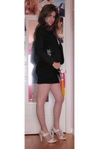 Target blazer - H&M skirt - Steve Madden shoes