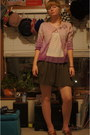 Red-flats-amethyst-diy-old-navy-sweater-periwinkle-soprano-shirt