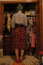 Vintage-skirt-headband-urban-outfitters-accessories-raccoon-top-shop-top