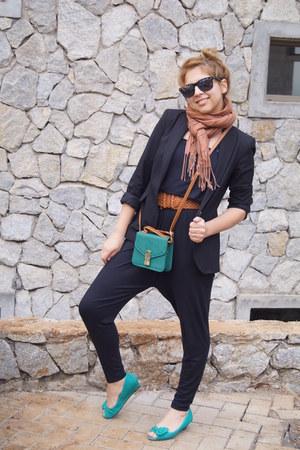 asos bag - Zara bodysuit
