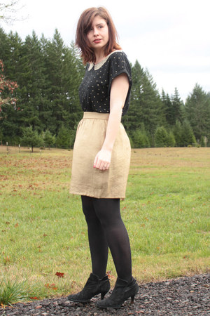 black Softe boots - gold gold Sway Chic skirt