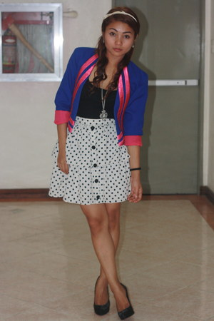 soulphenomenon blazer - Poisonberry skirt - f21 top - janilyn shoes - f21 access