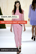 Ready, Set, Roll: The Cuffed Pant Revival