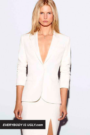 White-elizabeth-james-blazer