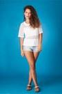 White-h-m-shirt-sky-blue-denim-zara-shorts-white-chain-forever-21-sandals