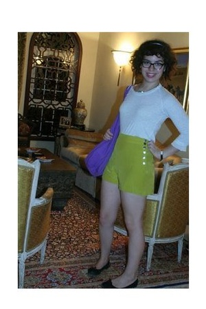 Clu shirt - Vena Cava shorts - American Apparel purse - Repetto shoes