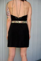 black Peachy Days Vintage dress