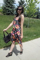 Macys purse - Dillards dress - Macys wedges