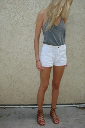 Forever21 shoes - vintage OP shorts
