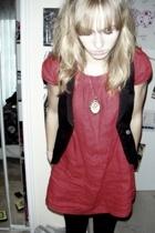 dress - H&M vest -