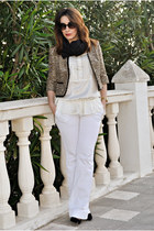 Savida jacket - Lefties top - Pimkie pants - Atmosphere heels