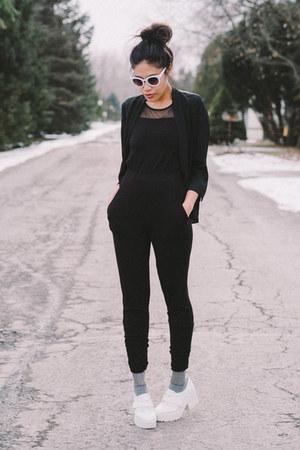 black onesie PacSun bodysuit