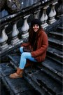 Brown-ugg-boots-sky-blue-isabel-marant-jacket