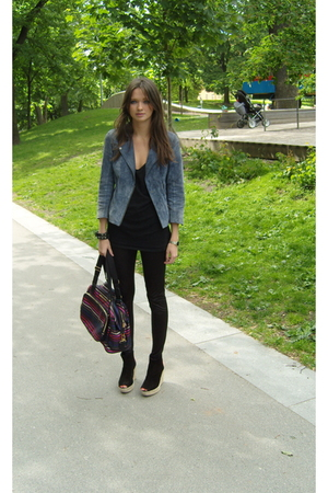 Topshop jacket - Sonia Rykiel purse - Topshop shoes