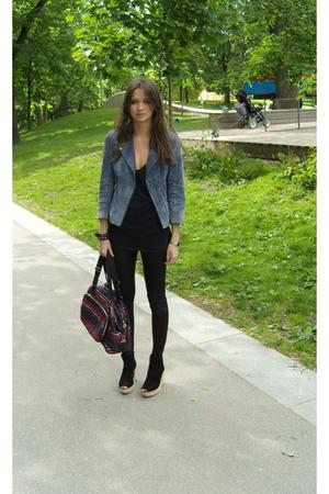 Topshop jacket - Sonia Rykiel purse - Topshop shoes