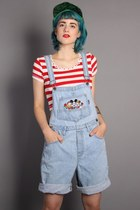 Vintage 90s MICKEY MOUSE Denim OVERALLS