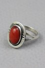 Brick Red Vintage Rings